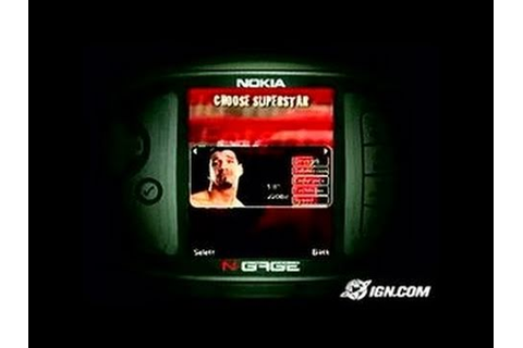 WWE Aftershock N-Gage Gameplay - Direct-Feed - YouTube