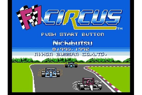 NES F1 Circus - YouTube