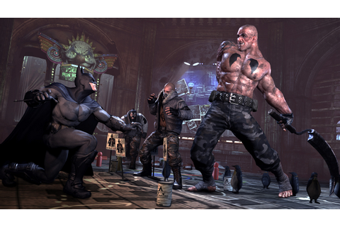 Degrees of Mediocrity: Review: Batman Arkham City