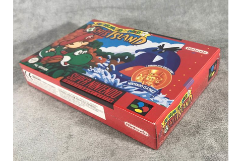 Super Nintendo Game - Super Mario World 2 Yoshi´s Island ...