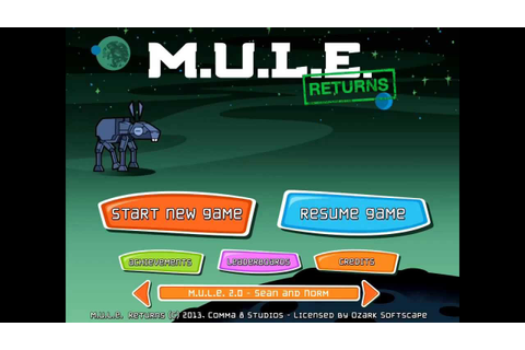 Classic Strategy Game M.U.L.E. Returns | Cult of Mac