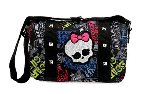 Monster High Messenger Bag | Monster high, Bags, School bags