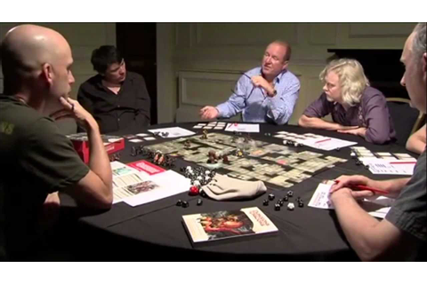 FULL Chris Perkins UK Adventure - Celebrity D&D Game from ...