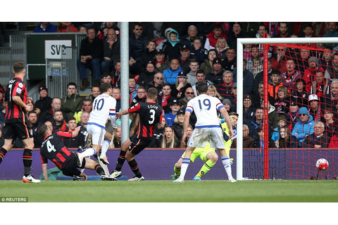 Bournemouth 1-4 Chelsea: Eden Hazard scores his first ...