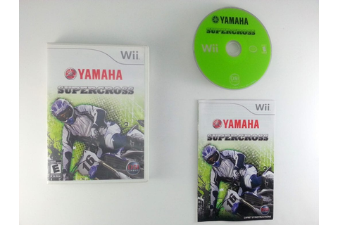 Yamaha Supercross game for Wii (Complete) | The Game Guy