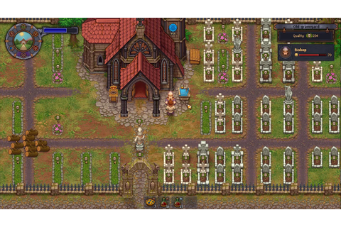 Graveyard Keeper upgrading Church into Cathedral - YouTube