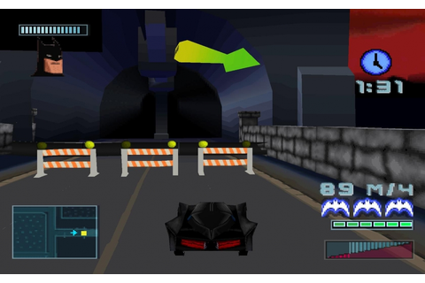 Batman : Gotham City Racer PS1 ISO | Download Game PS1 ...
