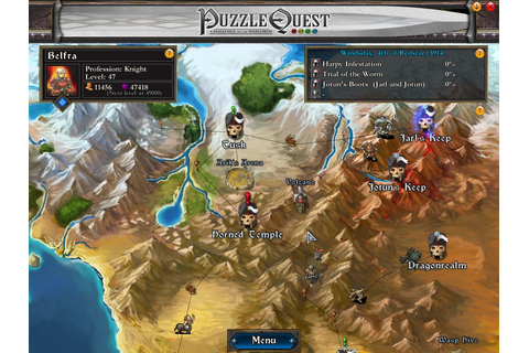 Puzzle Quest: Challenge of the Warlords Screenshots for ...