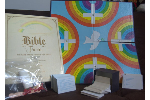 Vintage Bible Trivia The Game Where Trivia is Not Trivial by