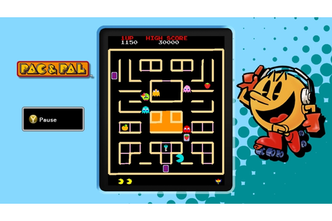PAC-MAN Museum Screens a Selection of Games