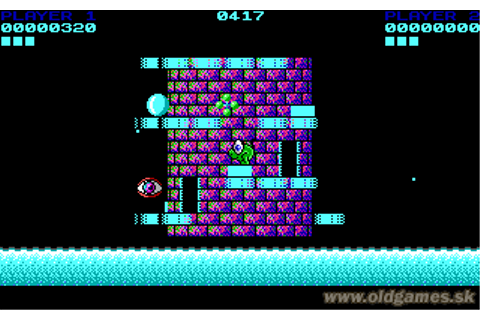 Nebulus (Tower Toppler) Download, Commodore 64 (d64) :: DJ ...