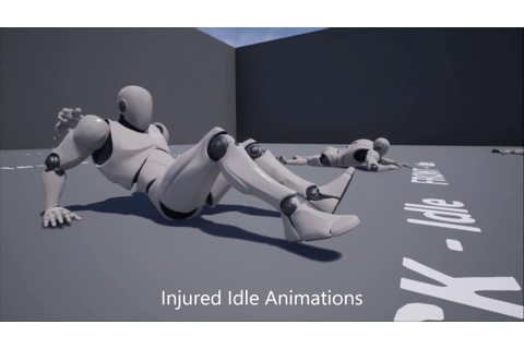 Injured and Revive Animation Pack - YouTube