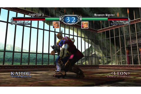 Soulcalibur II HD Online: Weapon Master Mode Part 1 - YouTube