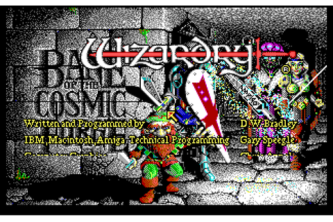 Wizardry VI: Bane of the Cosmic Forge | ClassicReload.com