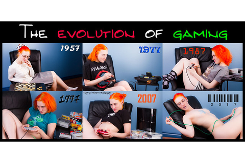 The evolution of gaming through the ages. Some things get ...