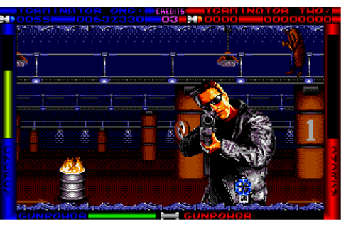 Download Terminator 2 - The Arcade Game | Abandonia