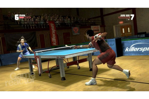 Bordtennis til Wii - Table Tennis - Gamereactor