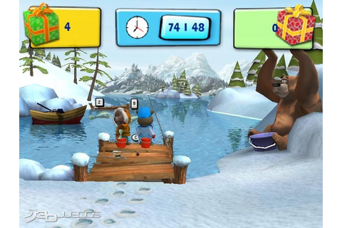 Hubert the Teddy Bear Winter Games para Wii - 3DJuegos