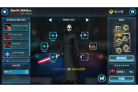 'Star Wars: Galaxy Of Heroes' Dark Side Update Adds 3 New ...
