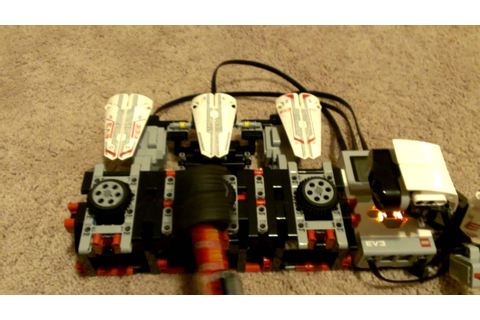 EV3 Whack3m Whack-A-Mole Lego Mindstorms game. - YouTube