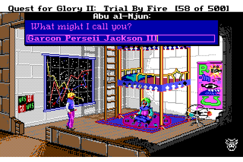 Let's Play Quest for Glory II: Trial by Fire Part Four ...