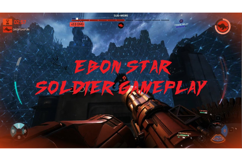 Evolve PC - Ebon Star Soldier Gameplay - YouTube