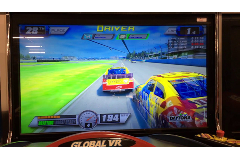 Nascar Team Racing With Hydraulics Arcade Game, Item 3044 ...