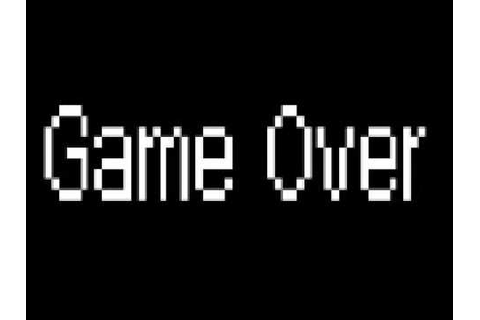 Super Mario Bros. Music - Game Over 2 - YouTube