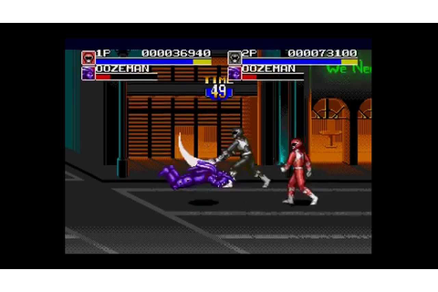 Mighty Morphin Power Rangers: The Movie 2 player Sega ...