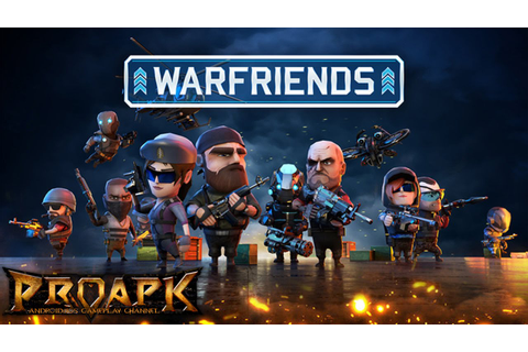 WarFriends Gameplay iOS / Android - YouTube