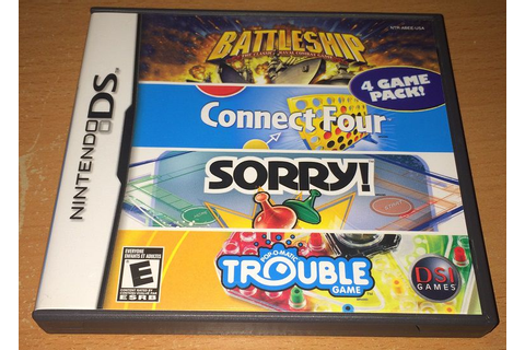 Buy Battleship / Connect Four / Sorry! / Trouble for the US DS