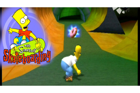 The Simpsons Skateboarding ... (PS2) - YouTube