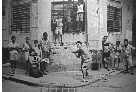 Boys Playing Stickball, Havana, Cuba, 1999 | There's a ...