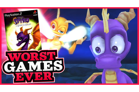 Worst Games Ever - The Legend of Spyro: The Eternal Night ...