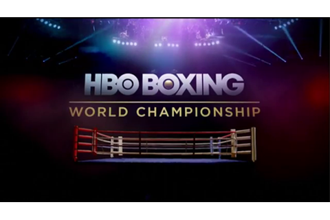 HBO World Championship Boxing - Wikipedia