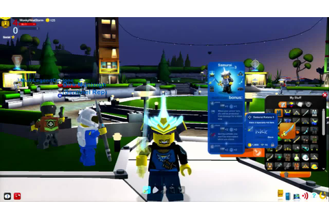 LEGO Universe - PC - Gamescom 2010 Customize gameplay ...