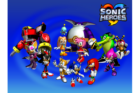 The Newbie Blogger: Download Game Sonic Heroes