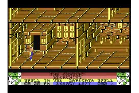 C64 Longplay - Staff Of Karnath - YouTube