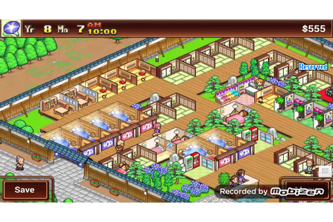 Kairosoft's Hot spring story - YouTube