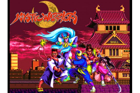 Mystic Warriors: Wrath of the Ninjas (Arcade) - YouTube