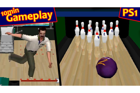 Brunswick Circuit Pro Bowling ... (PS1) 60fps - YouTube