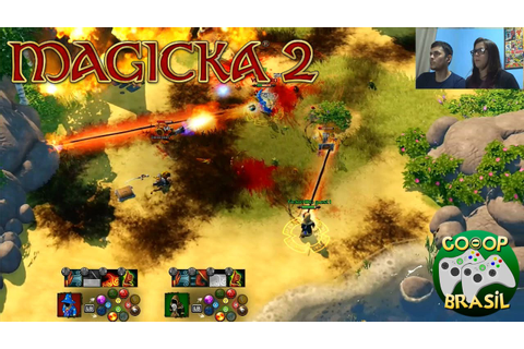 Magicka 2 - Co-Op (PC) / PT-BR - YouTube