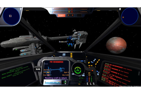 Watch 14 minutes of the classic Star Wars sim X-Wing ...