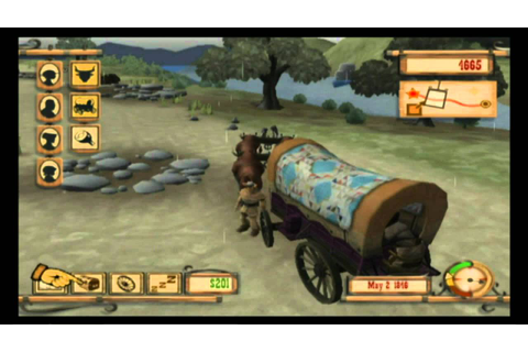 First Play - Oregon Trail Wii w/Commentary Part 1 - YouTube