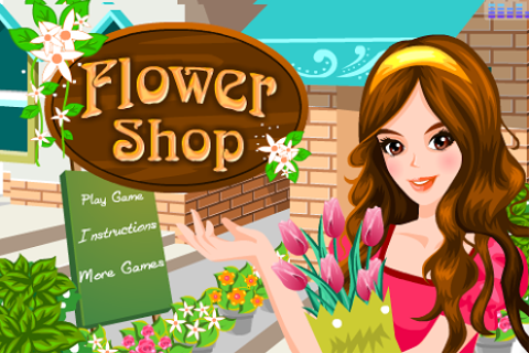 Pretty Girl Flower Shop
