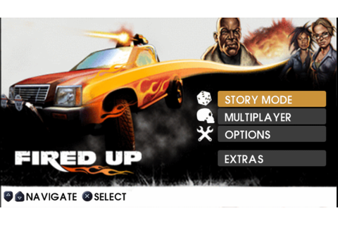 Fired UP PSP ISO Free Download & PPSSPP Setting - Free PSP ...