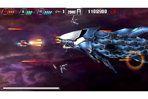 Darius Burst: Second Prologue - Gameplay [PSP] - YouTube