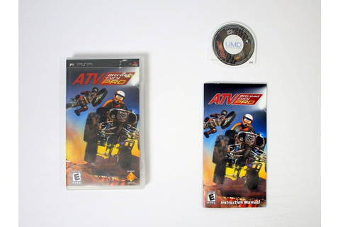 ATV Offroad Fury Pro game for PSP (Complete) | The Game Guy