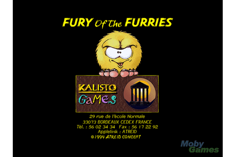 Download Fury of the Furries - My Abandonware