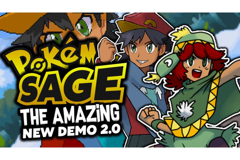 AWESOME FAN GAME IS BACK!? Pokémon Sage - Pokemon Fan Game ...